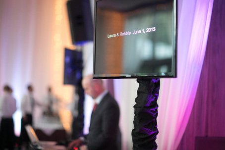 Video Montage at Wedding